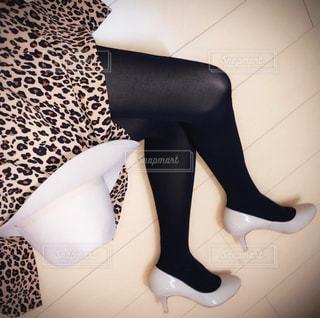 Selfie★Leopard Print Dressの写真・画像素材[1630232]