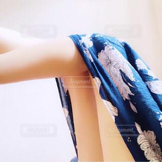 Selfie★Maxi skirtの写真・画像素材[2291233]