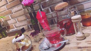 カフェの写真・画像素材[618049]