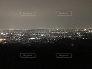 福岡の夜景の写真・画像素材[1035801]