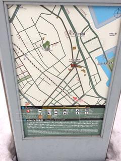 【北海道小樽】地図の写真・画像素材[1044048]