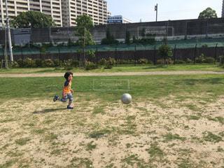幼稚園サッカーの写真・画像素材[1036983]
