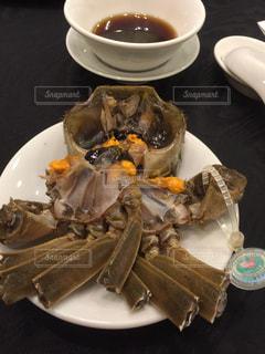 上海蟹紹興酒漬けの写真・画像素材[1036629]