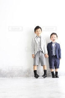 仲良し兄弟の写真・画像素材[3607505]