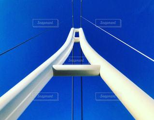青空への道の写真・画像素材[1036944]