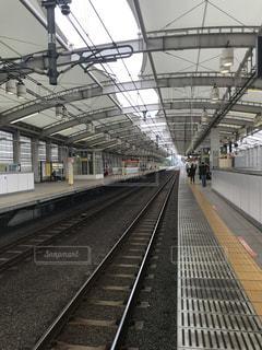 朝の駅の写真・画像素材[1273688]