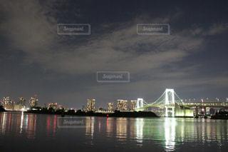 タワマンとレインボーブリッジの写真・画像素材[1037306]