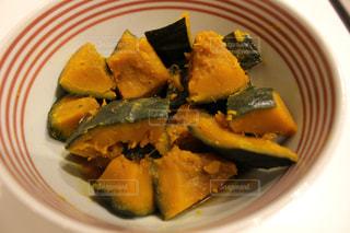 かぼちゃの煮っ転がしの写真・画像素材[1037409]