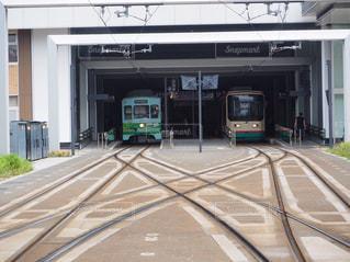 金沢の路面電車の写真・画像素材[1038581]