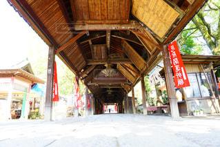 お寺への道の写真・画像素材[1057669]