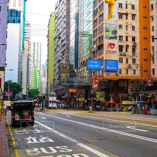 香港の街並みの写真・画像素材[1752218]