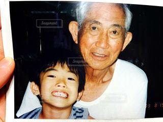 亡き祖父との思い出の写真・画像素材[1043756]