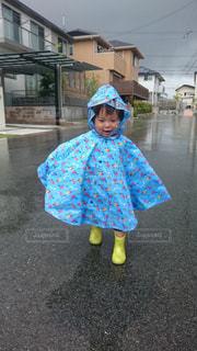 雨がすきなんだの写真・画像素材[1049739]