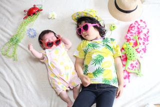 夏の子どもの写真・画像素材[1060376]