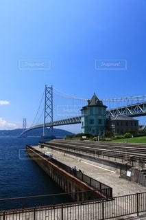 明石海峡大橋の写真・画像素材[1045931]