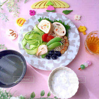 ひな祭り ヘルシープレート 糖質制限 - No.1038278