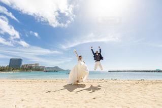 ハワイのビーチフォト♡の写真・画像素材[3306236]
