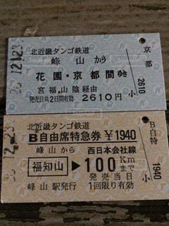 切符の写真・画像素材[1049933]