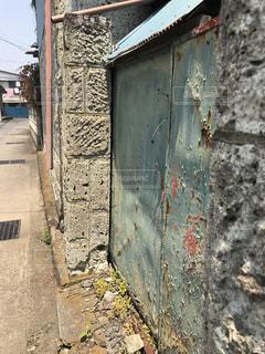 古い門の写真・画像素材[1225860]