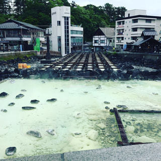 草津温泉の写真・画像素材[1038886]