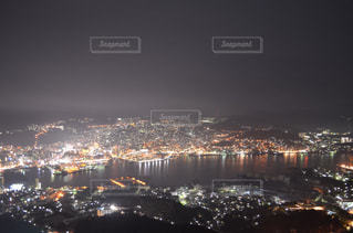 稲佐山からの夜景の写真・画像素材[1132073]
