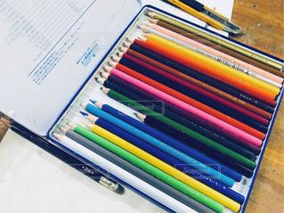 色鉛筆の写真・画像素材[1042207]