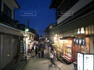 風情ある夜の江ノ島 - No.1061703