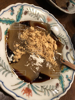 鎌倉名物のわらび餅の写真・画像素材[1063711]