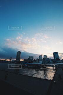 夕焼け空の写真・画像素材[1039113]