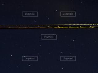 星と電線の写真・画像素材[1061231]