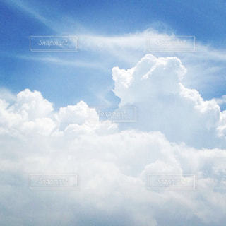 夏空と入道雲の写真・画像素材[1361712]