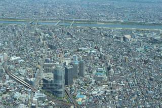 都市の空中写真の写真・画像素材[1039235]