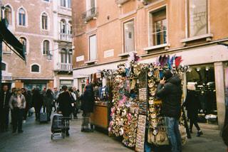 ヴェネチアの仮面フェスティバルの写真・画像素材[1041850]