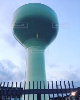 給水塔の写真・画像素材[1043290]