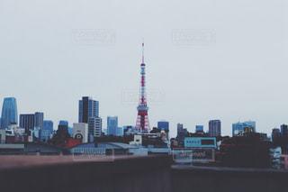 東京タワーの写真・画像素材[1039637]