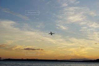 夕暮れの空の写真・画像素材[1058929]
