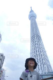 東京スカイツリーの写真・画像素材[1063931]