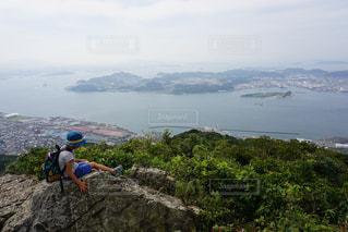 関門海峡の写真・画像素材[1073397]