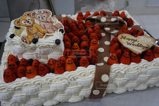 ウェディングケーキの写真・画像素材[1152622]