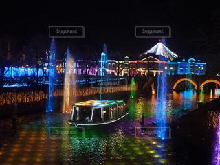 ハウステンボスの夜景の写真・画像素材[1057567]