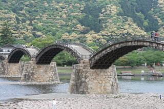 錦帯橋の写真・画像素材[1045104]