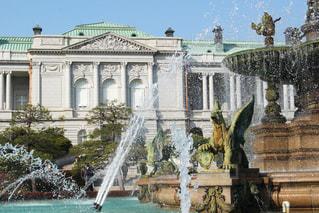 主庭 噴水の写真・画像素材[1055196]