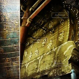 大仏様の裏側の写真・画像素材[1039917]