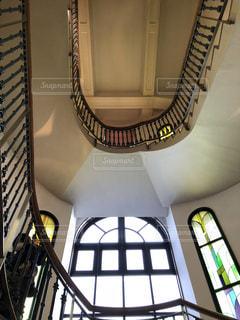 洋館の階段の写真・画像素材[976603]