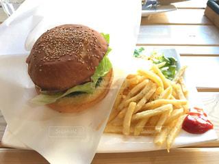 ハンバーガーの写真・画像素材[1040845]