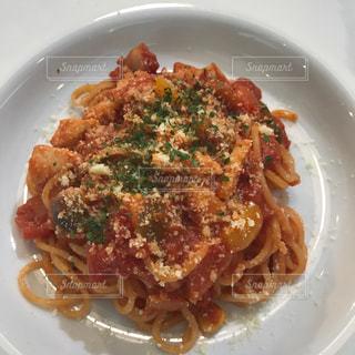 トマトソーススパゲッティの写真・画像素材[1041552]