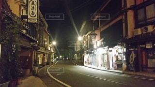 城崎温泉の街並みの写真・画像素材[1040153]