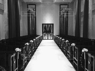 部屋の黒と白の写真の写真・画像素材[1041411]