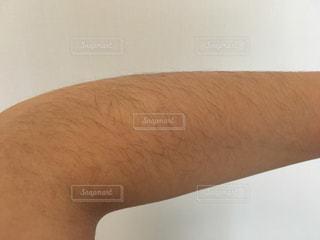 腕のムダ毛の写真・画像素材[1126030]