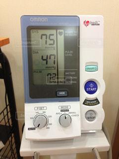 血圧計の写真・画像素材[1153252]